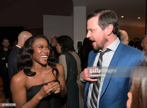 ClareHope Ashitey and Michael Mosley attend Netflix's 'Seven Seconds' Premiere screening and postreception in Beverly Hills CA on February 23 2018 in...