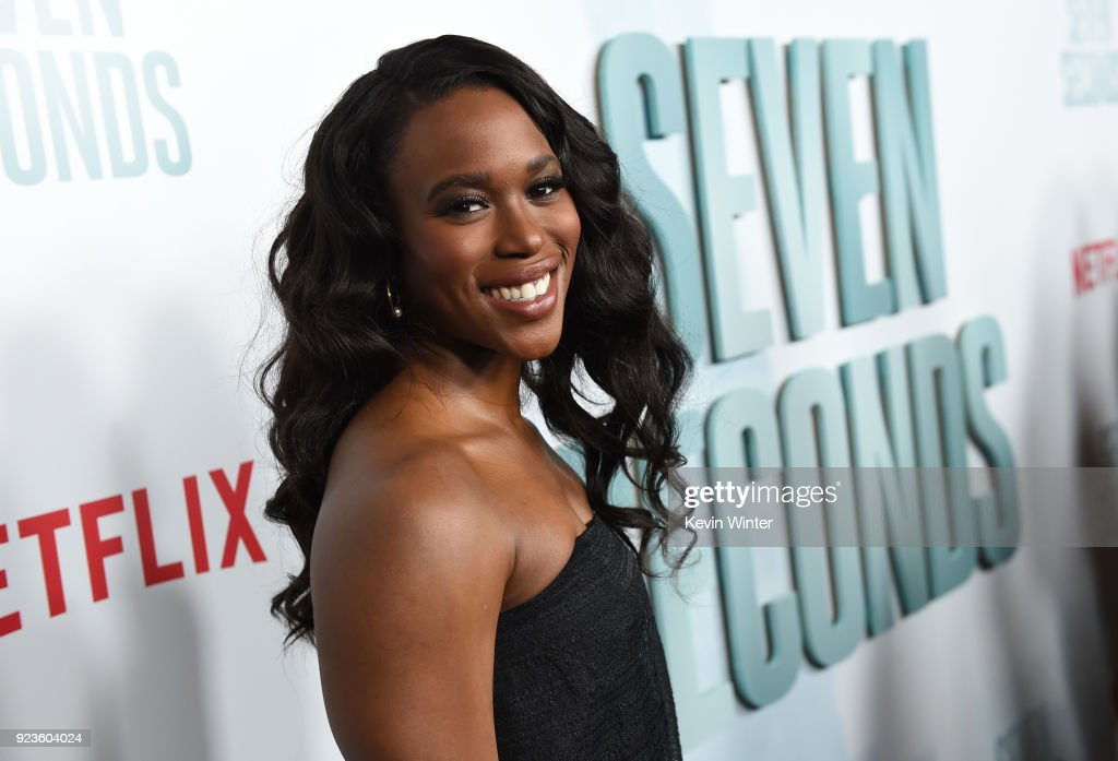 Clare-Hope Ashitey attends the premiere of Netflix's 'Seven Seconds' at The Paley Center for Media on February 23, 2018 in Beverly Hills, California.