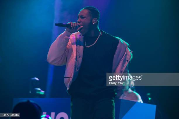 Claremont the Second performs at the Juno Gala Dinner and Awards at the Vancouver Convention Centre on March 24 2018 in Vancouver Canada