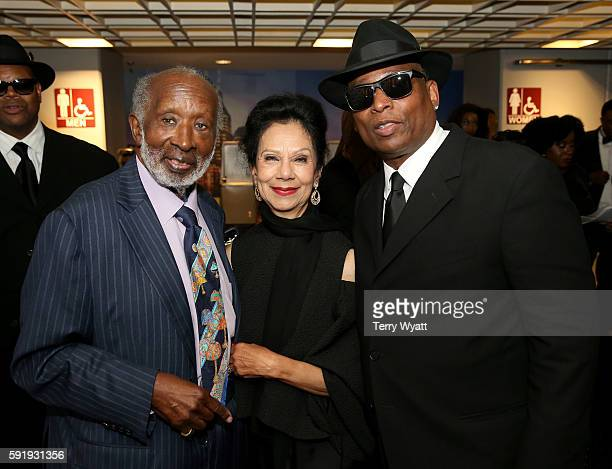 Clarence and Jacqueline Avant and Jimmy Jam attend NMAAM 2016 Black Music Honors on August 18 2016 in Nashville Tennessee