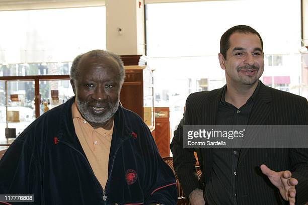 Clarence Avant and Korosh Soltani Owner of David Orgell