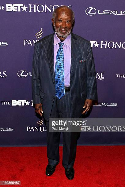 Clarence Avant attends BET Honors 2013 Red Carpet Presented By Pantene at Warner Theatre on January 12 2013 in Washington DC