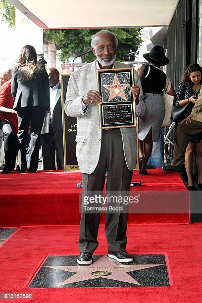 Clarence Avant Honored With Star On The Hollywood Walk Of Fame on October 7 2016 in Hollywood California