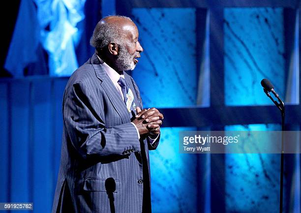 Clarence Avant is honored at the NMAAM 2016 Black Music Honors on August 18 2016 in Nashville Tennessee