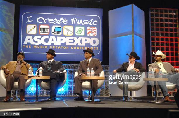 Clarence Avant Jimmy Jam Terry Lewis John Rich and Cowboy Troy