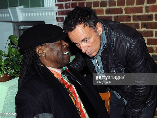 Clarence Clemons and Bruce Springsteen attends the'Who Do I Think I Am' After Party during the 9th Annual Garden State Film Festival at Synaxis...