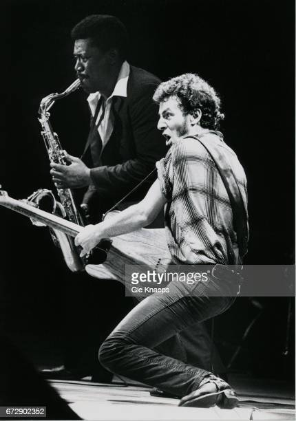 Clarence Clemons and Bruce Springsteen Vorst Nationaal Brussels Belgium