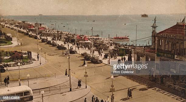 Clarence Esplanade and Pier, Southsea, Hampshire, circa 1930s.
