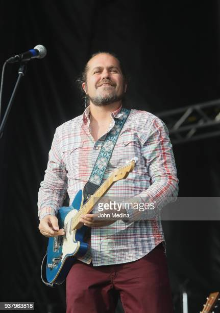 Clarence Greenwood aka Citizen Cope performs durin the 1st annual Innings Festival at Tempe Beach Park on March 25 2018 in Tempe Arizona