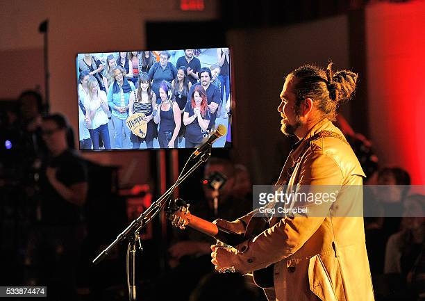 Clarence Greenwood of Citizen Cope perfoms a live streamed concert for an audience in Chicago called Soundtrack of America Made in Tennessee from...