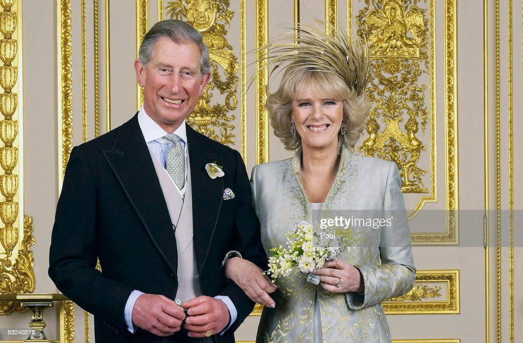 TRH Prince of Wales & The Duchess Of Cornwall - Official Wedding Photo : News Photo