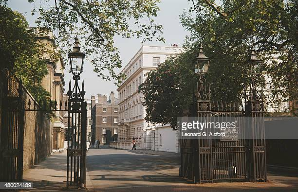 Clarence House on The Mall, London, UK, circa 1960.