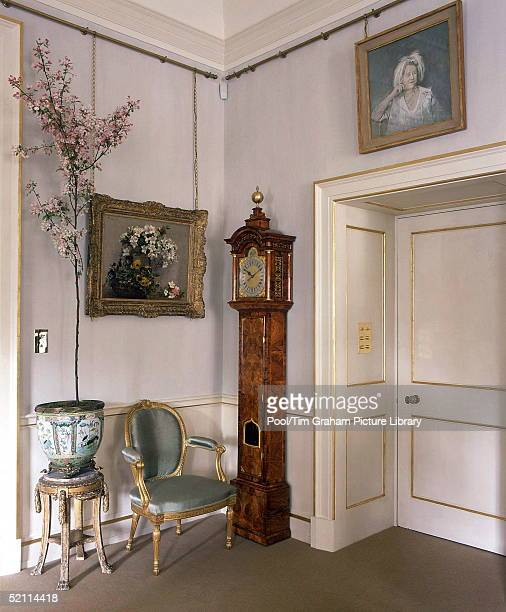 Clarence House The Official London Residence Of Prince Charles Prince Of Wales A Corner Of The Morning Room With Sketch By Graham Sutherland For A...