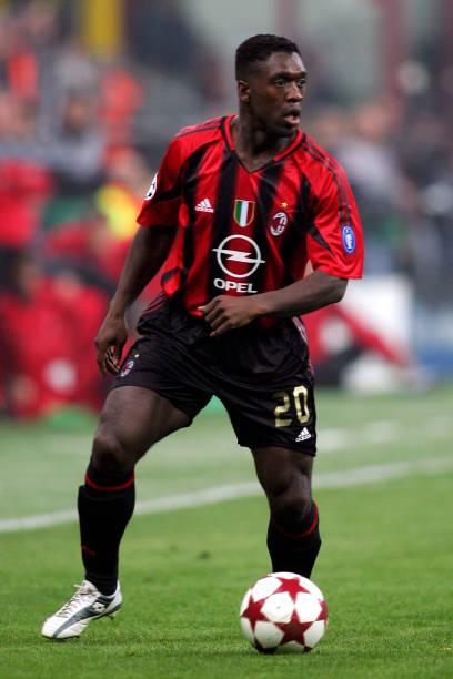 Soccer - UEFA Champions League - Quarter Final - First Leg - AC Milan v Inter Milan - Giuseppe ...