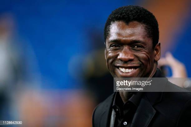 Clarence Seedorf during the Training Ajax in Madrid at the Santiago Bernabeu on March 4, 2019 in Madrid Spain