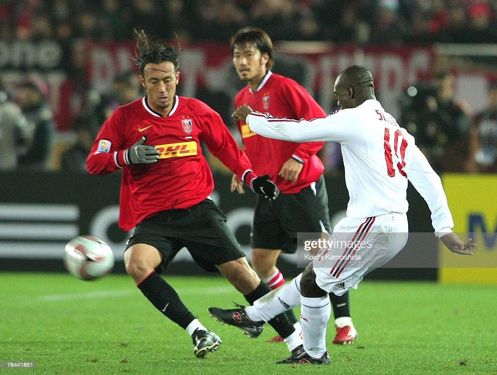 Urawa Reds v AC Milan --- FIFA Club World Cup 2007 Semi Final : News Photo