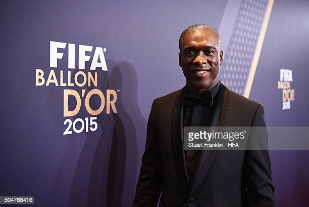 Clarence Seedorf of the Netherlands arrives for the FIFA Ballon d'Or Gala 2015 at the Kongresshaus on January 11 2016 in Zurich Switzerland