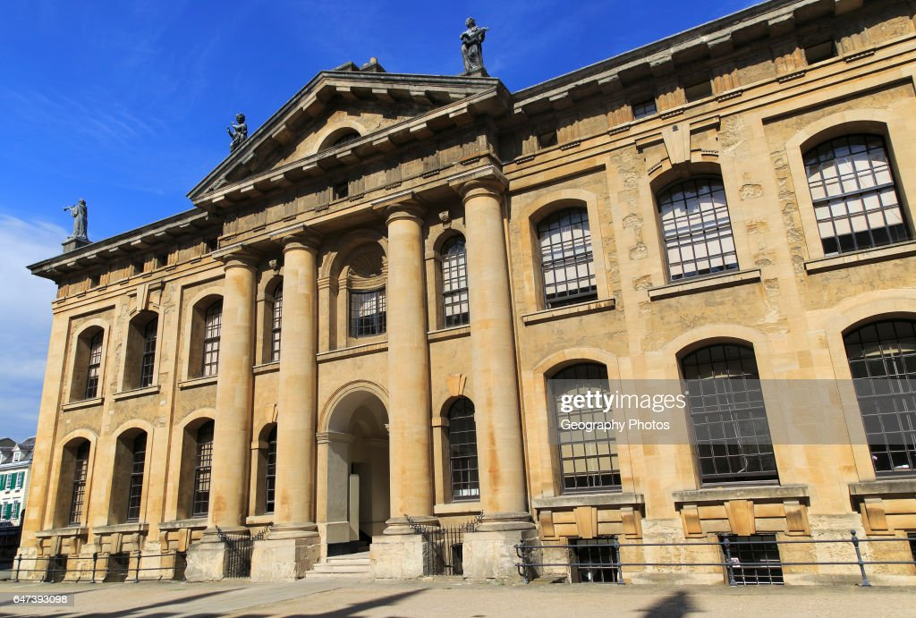Clarendon Building, Early 18th Century Neoclassical Architecture,  University Of Oxford, England,