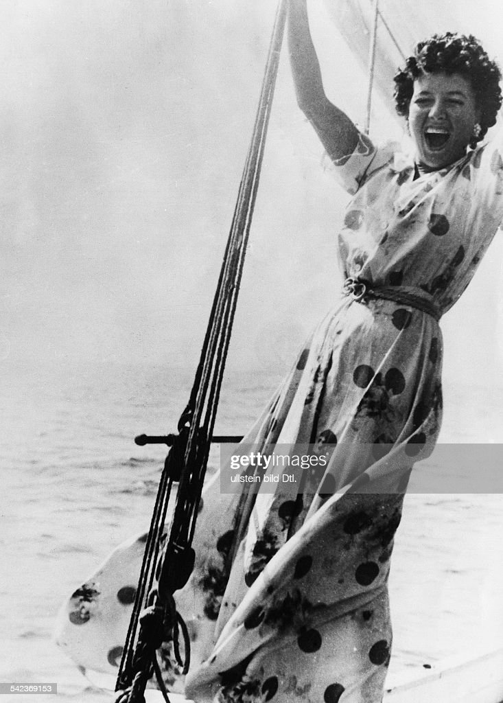Clara Petacci (1912-1945) Geliebte von B. Mussolini : News Photo
