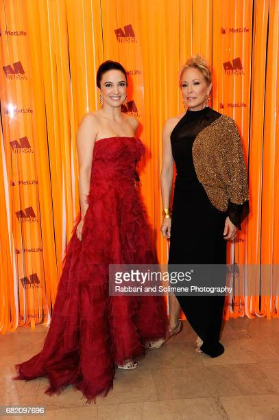 Clarice Oliveira Tavares and Maria Eugenia Maury attends the El Museo Gala 2017 at The Plaza Hotel on May 11 2017 in New York City