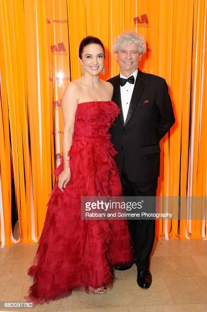 Clarice Oliveira Tavares and Tony Bechara attends the El Museo Gala 2017 at The Plaza Hotel on May 11 2017 in New York City