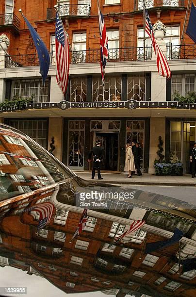 Claridges Hotel May 4 2002 in London