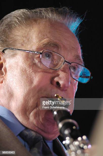Clarinet player Buddy de Franco performs live on stage att the North Sea Jazz festival in The Hague, Holland on July 09 2005