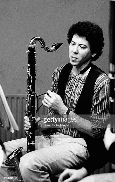 Clarinet player Marty Ehrlich performs live on stage at Bimhuis in Amsterdam, Netherlands on May 20 1983