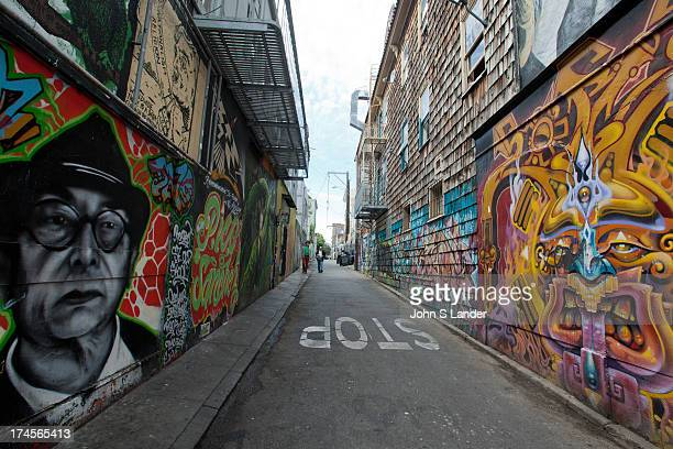 Clarion Alley Mural Project is an artists collective formed in October 1992 by a group of six San Francisco Mission residents Aaron Noble Michael...