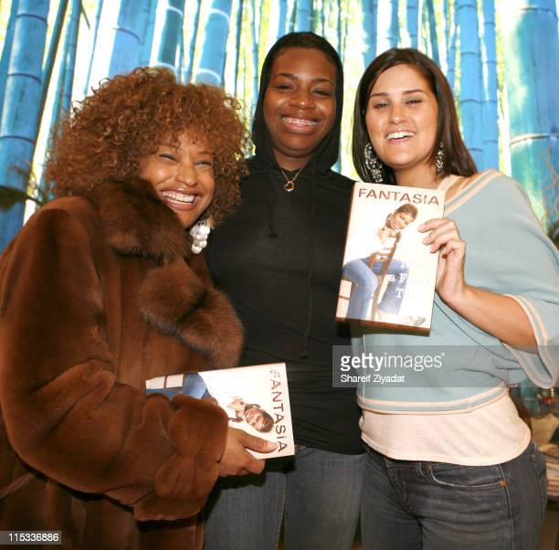 Clarisa Wilson Fantasia Barrino and Joanna Simkin
