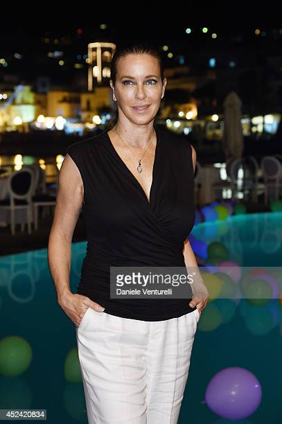 Clarissa Burt attends Day 8 of Ischia Global Film Music Fest 2014 on July 19 2014 in Ischia Italy