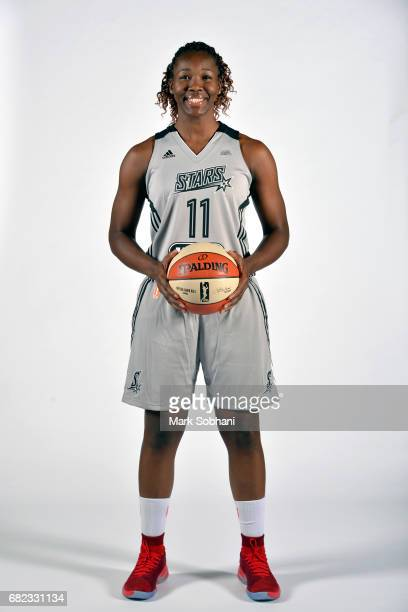 Clarissa dos Santos of the San Antonio Stars poses for a photo at media day on Wednesday May 10 at the ATT Center in San Antonio Texas NOTE TO USER...