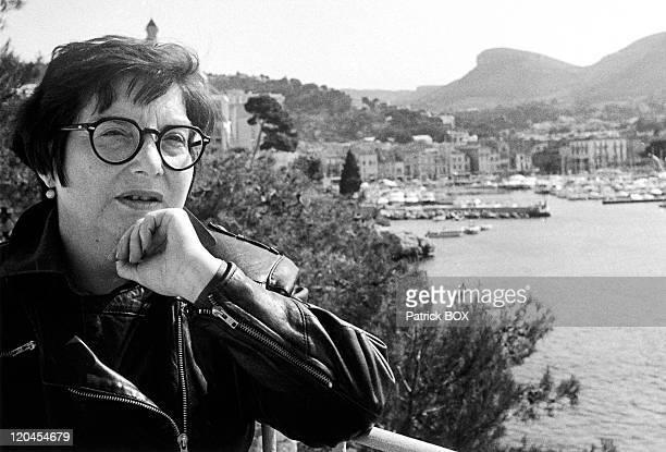 Clarisse Nicoidski in Cassis, France in April, 1991.