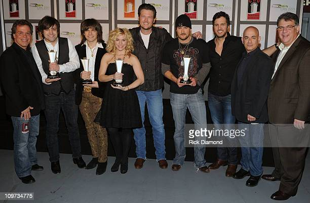 Clark ACM Awards Executive Producer Honorees The Band Perry Neil Perry Reid Perry Kimberly Perry Record Artists Blake Shelton Honoree Eric Church...