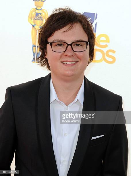 Clark Duke arrives at the 2010 MTV Movie Awards held at the Gibson Amphitheatre at Universal Studios on June 6 2010 in Universal City California