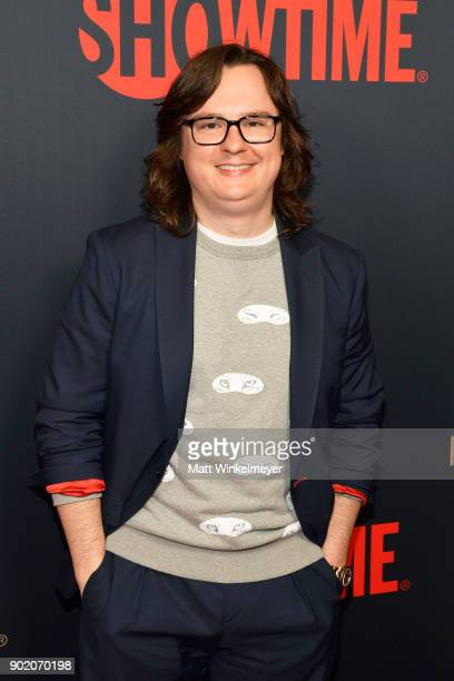 Clark Duke arrives for the Showtime Golden Globe Nominees Celebration at Sunset Tower on January 6, 2018 in Los Angeles, California.