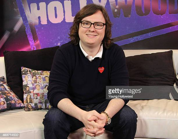 Clark Duke visits the Young Hollywood Studio on February 17 2015 in Los Angeles California