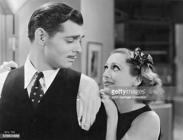 Clark Gable and Joan Crawford in Dancing Lady