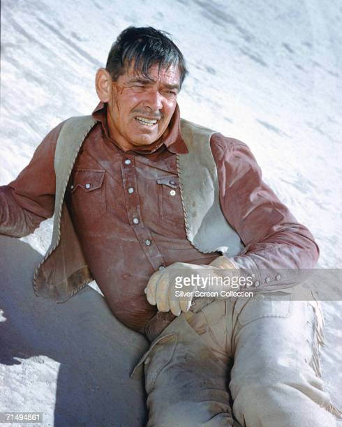 Clark Gable as cowboy Gay Langland in John Huston's western 'The Misfits' 1960