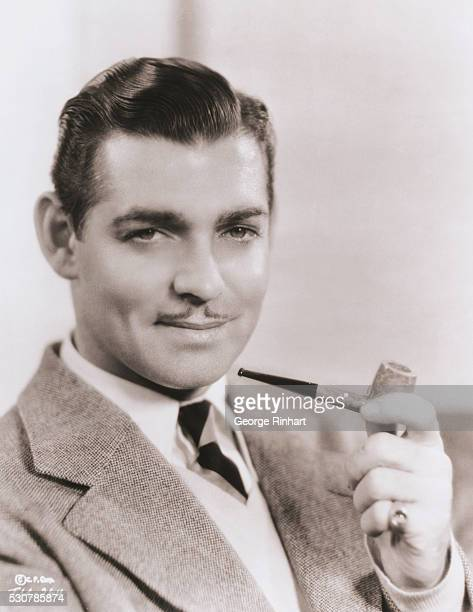 Clark Gable as he looked in the early 1930's when he landed his part in It Happened One Night that was to make him famous