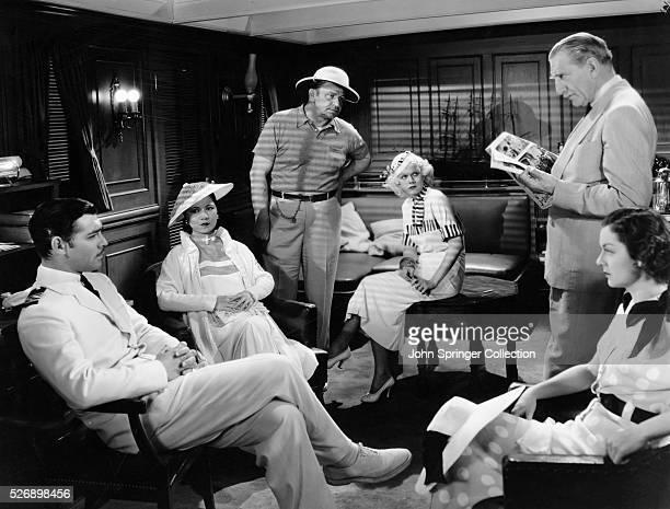 Clark Gable as ship captain Alan Gaskell Soo Yong as YuLan Wallace Beery as Jamesy MacArdle Jean Harlow as Dolly China Doll Portland Lewis Stone as...