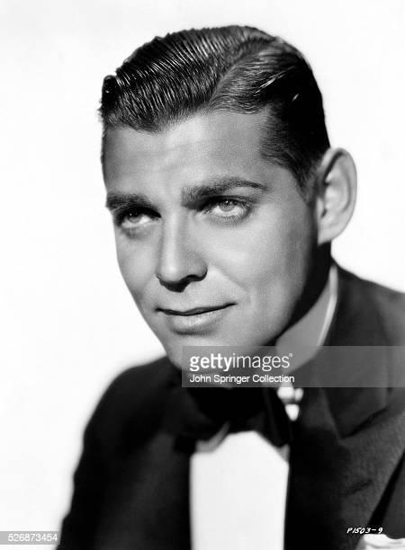 Clark Gable Wearing a Tuxedo