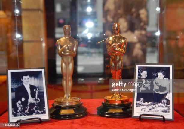 Clark Gable's Oscar for 'It Happened One Night' and Bette Davis' Oscar for 'Jezebel'