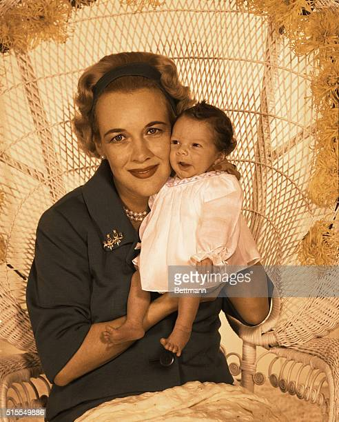 Clark Gable's Son John Clark Gable the two weeks old son of Clark Gable and Katherine Williams Gable makes his photographic debut and poses like a...