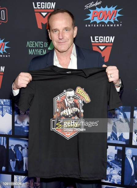 Clark Gregg arrives at Excelsior A Celebration Of The Amazing Fantastic Incredible And Uncanny Life Of Stan Lee at TCL Chinese Theatre on January 30...