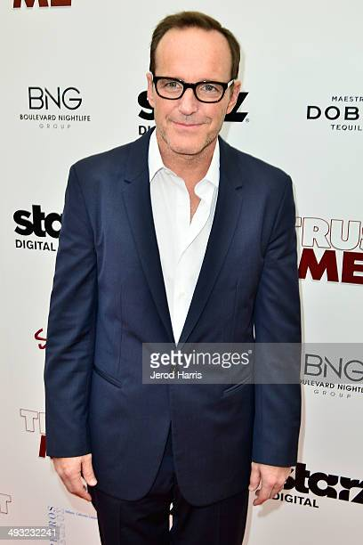 Clark Gregg arrives at the Los Angeles Premiere of 'Trust Me' at the Egyptian Theatre on May 22 2014 in Hollywood California