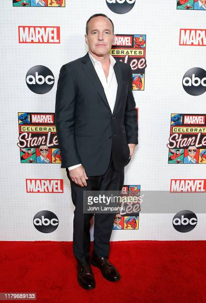 Clark Gregg attends ABC and Marvel honor Stan Lee at New Amsterdam Theatre on October 07, 2019 in New York City.