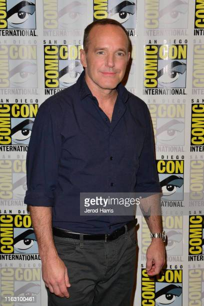 """Clark Gregg attends the """"Agents of S.H.I.E.L.D."""" press line during 2019 Comic-Con International on July 19, 2019 in San Diego, California."""