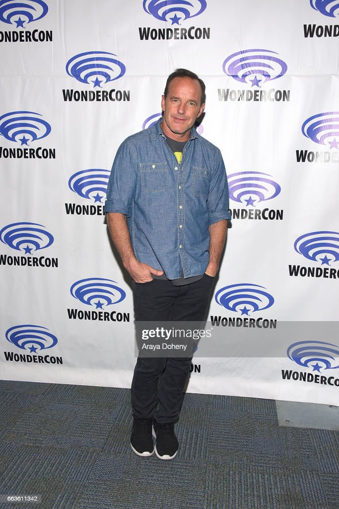 Clark Gregg attends the 'Agents of S.H.I.E.L.D.' press panel at day two of WonderCon 2017 the at Anaheim Convention Center on April 1, 2017 in Anaheim, California.