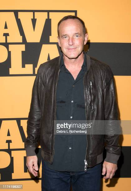 """Clark Gregg attends the opening night of """"Slave Play"""" at John Golden Theatre on October 6, 2019 in New York City."""
